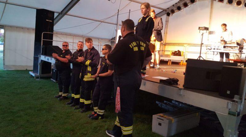 Die Feuerwehr beim Vereinsmeier
